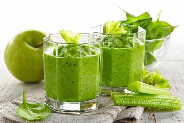 простые рецепт зеленых коктейлей