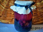 виноградный компот на зиму рецепт