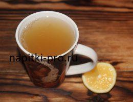 чай имбирный рецепт от кашля