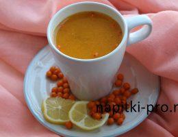 чай с облепихой рецепт