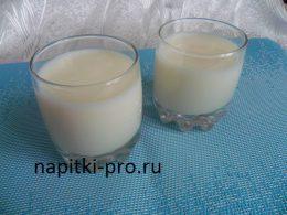 молочный кисель рецепт без крахмала