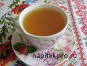 чай из листьев малины с мятой