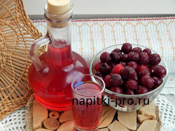 вишневка на водке или самогоне