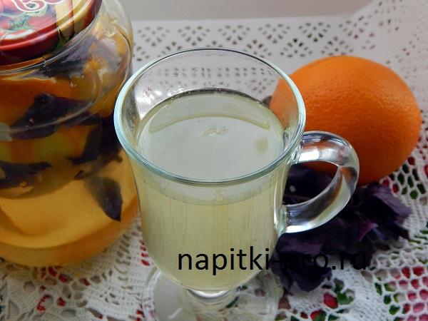 готовый апельсиновый напиток
