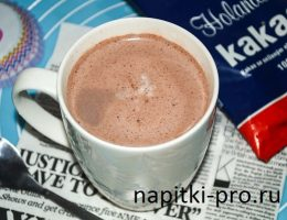 как варить какао из порошка