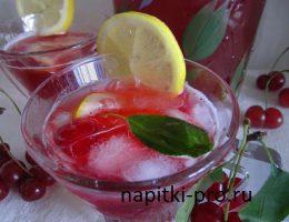 напитки из вишни в домашних условиях