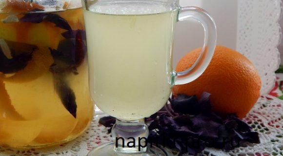 напиток из апельсинов в домашних условиях рецепт